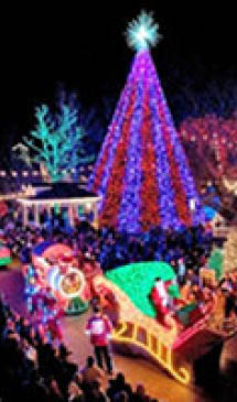 Earth Limos Las Vegas Christmas Lights Tour