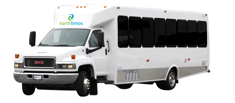 Earth Limos of Las Vegas 22 PASSENGER LIMO COACH