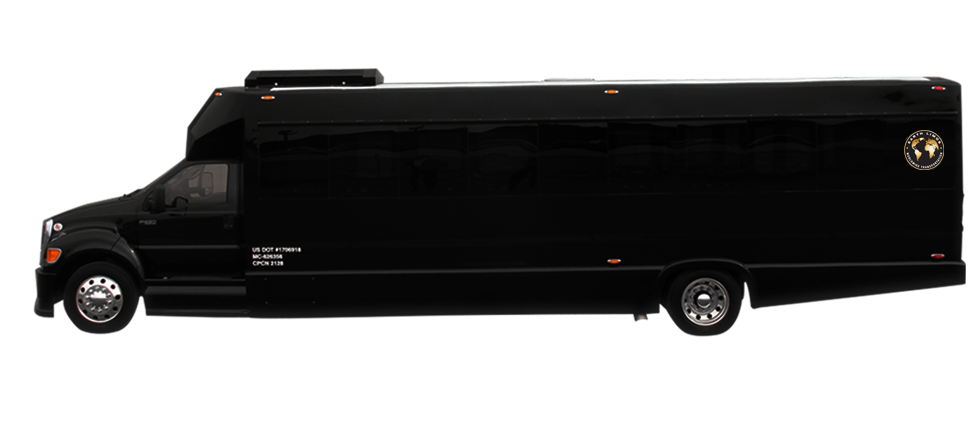 Earth Limos of LAS VEGAS 35 Passenger party bus