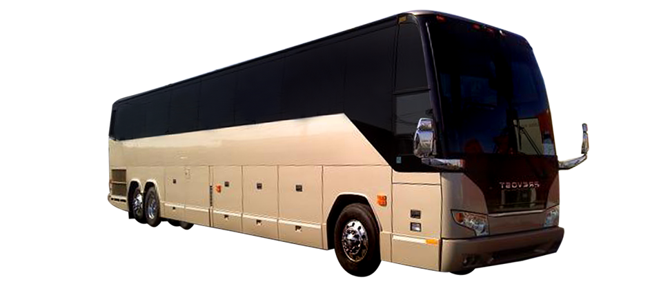 Earth Limos of LAS VEGAS 55 Passenger Coach Bus