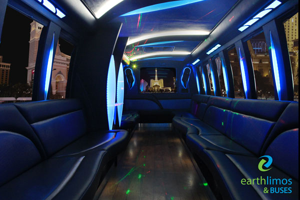 las vegas luxury party bus 32 passenger limo coach